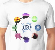 Seven Deadly Sins Character Icons Unisex T-Shirt