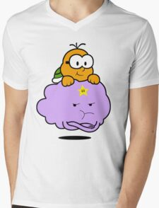 Lakitu Space Princess Mens V-Neck T-Shirt