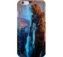 Gillian Anderson as Blanche Dubois iPhone Case/Skin