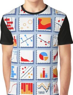Stats Element Set in Various Colors Graphic T-Shirt