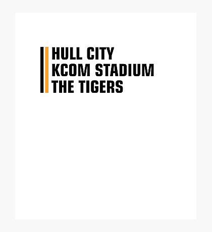 Hull city Photographic Print