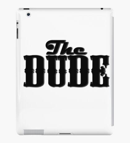 The DUDE plain print - The Big Lewbowski iPad Case/Skin