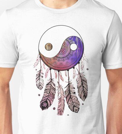 YIN YANG CATCHER MANDALA Unisex T-Shirt
