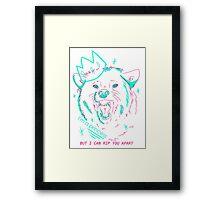 im a princess Framed Print