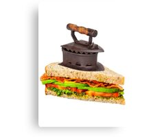 Ironic Sandwich Canvas Print