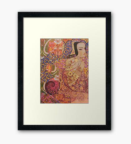 The Aesthete  Framed Print