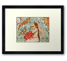 wear you rue with a difference Framed Print