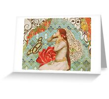 wear you rue with a difference Greeting Card