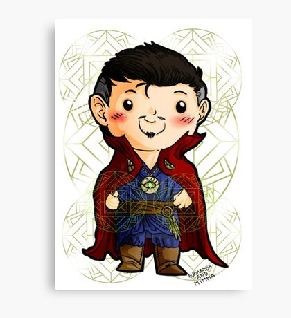 Chibi Doctor Strange 2 Canvas Print