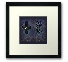 You Can't Take the Sky From Me - Oil Pastels Framed Print