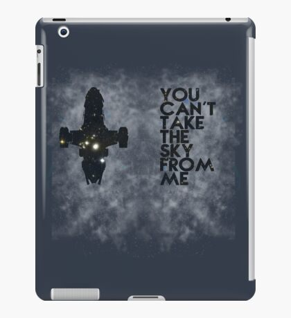 You Can't Take the Sky From Me - Oil Pastels iPad Case/Skin