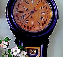 The Olde Dogwood Clock by Michael May