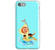 Moana Maui Loose Watercolor iPhone Case/Skin