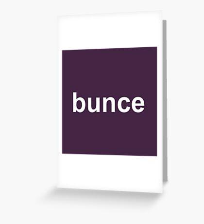 Bunce - The Office - David Brent - Dark Greeting Card