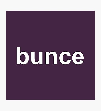 Bunce - The Office - David Brent - Dark Photographic Print