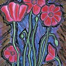 Poppies by Roz Abellera Art