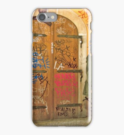 Sneaking A Smoke iPhone Case/Skin