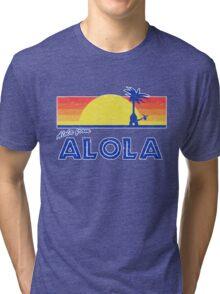 Pokemon Sun and Moon - Alola from Alola Tri-blend T-Shirt
