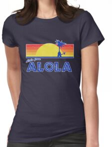Pokemon Sun and Moon - Alola from Alola Womens Fitted T-Shirt