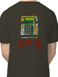 Counter Strike Bomb Text Classic T-Shirt