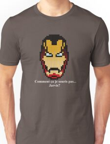 Iron Man ... Jarvis? Pixel Art Unisex T-Shirt