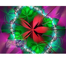 red ribbon Photographic Print