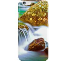 CASCADE AND BOULDERS iPhone Case/Skin