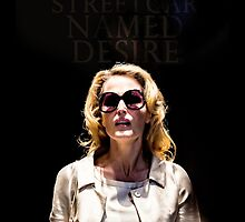 Gillian Anderson as Blanche DuBois in A Streetcar Named Desire by fabslounge