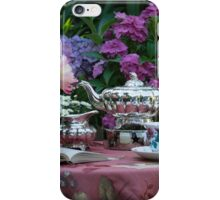 Tea in the afternoon iPhone Case/Skin