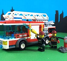 FIRE TRUCK, FIRE TRUCK, FIRE TRUCK by LegoLegion