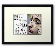 Makeup & Art Framed Print