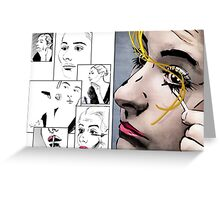 Makeup & Art Greeting Card