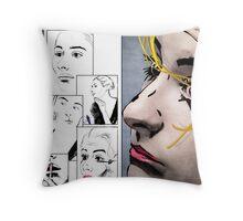 Makeup & Art Throw Pillow