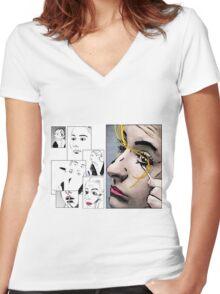 Makeup & Art Women's Fitted V-Neck T-Shirt