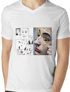 Makeup & Art Mens V-Neck T-Shirt