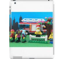 Happy Fireman Xmas iPad Case/Skin