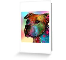 pitbull Greeting Card