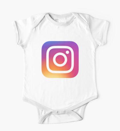 Instagram Logo (New) One Piece - Short Sleeve