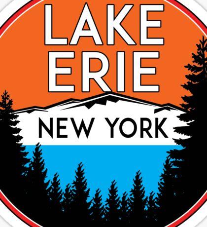 LAKE ERIE NEW YORK BOATING FISHING GREAT LAKES Sticker
