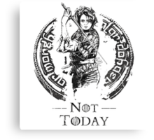 What Do We Say? Canvas Print