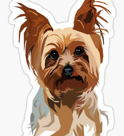 Its a Yorkie Too Sticker