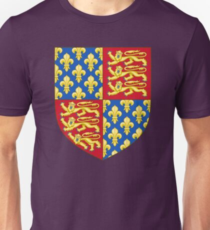 Coat of Arms of England (1340-67) Unisex T-Shirt
