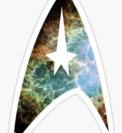 Star Trek: Starfleet Insignia Sticker