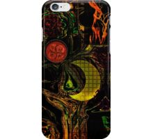 EXPRESSIONISM OF IMAGINATION iPhone Case/Skin