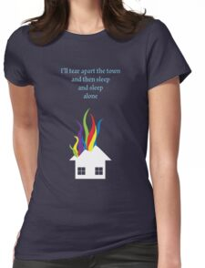 A Tale of Outer Suburbia Womens Fitted T-Shirt