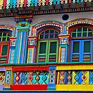 Little India, Singapore by Jane Marin
