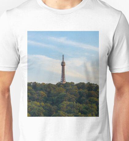 Petrin Lookout tower, Prague Czech Republic Unisex T-Shirt