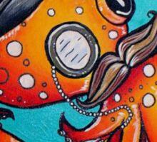 Classy Octopus Sticker