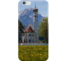 Baroque Church of Saint-Coloman, Bavaria, Germany iPhone Case/Skin
