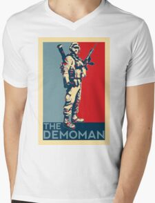 Battlefield - The Demoman Mens V-Neck T-Shirt